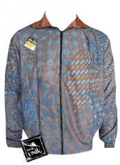 Jaket Batik Back And Forth Motif Bunga Semi