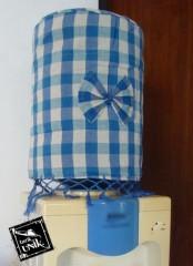 Tutup Dispenser Flanel Motif Anyaman Warna