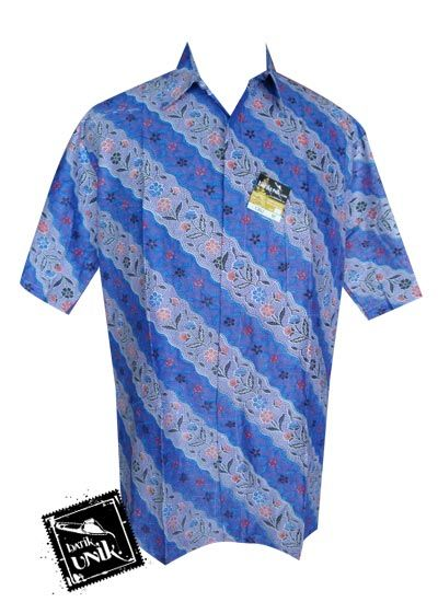 Baju Batik Sarimbit Motif Liris Kembang Taman