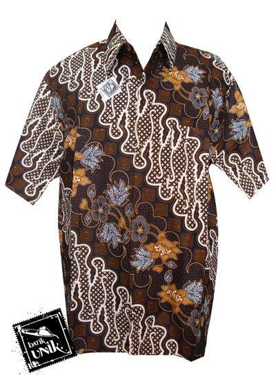 Baju Batik Kemeja Motif Batik Klasik