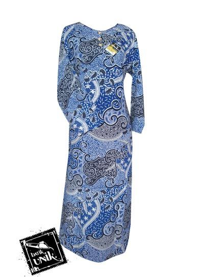 Baju Batik Gamis Motif Batik Etnik