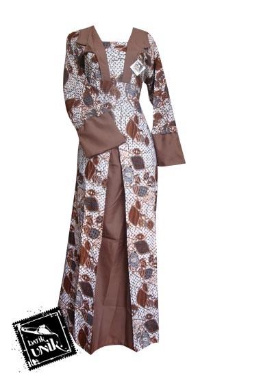 Baju Batik Gamis Motif Kutut Manggung Gamis Batik Murah