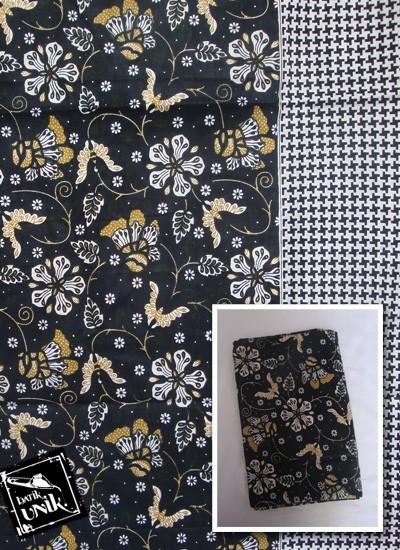 Kain Batik Katun Print Motif Bunga Kupu Etnik Sold Out ef413ef874