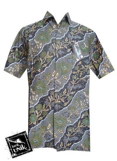 Baju Batik Sarimbit Motif Liris Kembang Anggrek