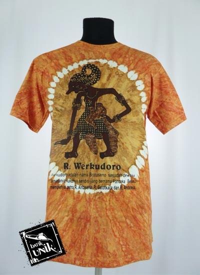 Baju Batik Kaos Etnik Motif Pelangi Tradisional