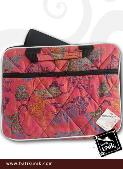 Tas Batik Laptop Motif Batik Kontemporer 12 inchi   Tas ...