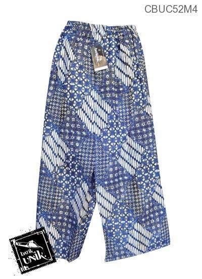 Celana Batik Sarung Panjang Motif Batik Jogja Klasik
