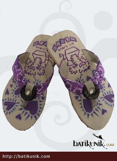 Sandal Batik Jogja Anak Motif Unik