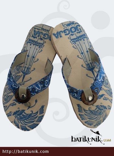 Sandal Batik Jogja Anak Motif Unik 26 30