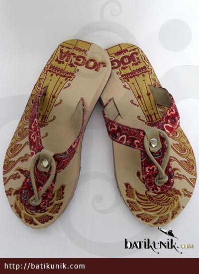 Sandal Batik Terbaru  Jogja Jepit Sendok Tali Anak