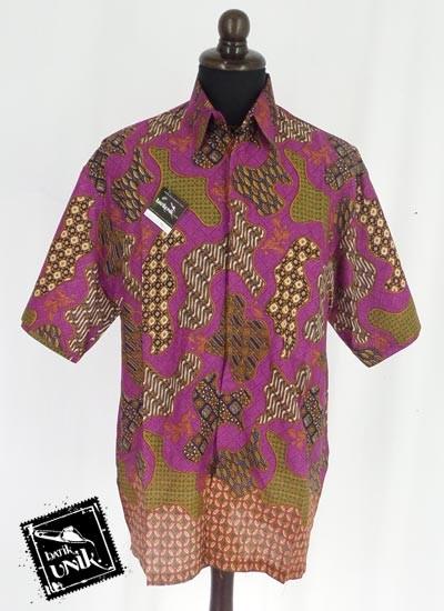 Baju Batik Sarimbit Blus Motif Batik Solo