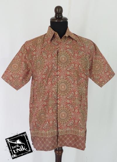 Baju Batik Sarimbit Blus Motif Piring Kitir