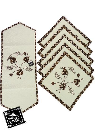 Sarung Bantal Kursi Batik Blaco Motif Bunga Bordir