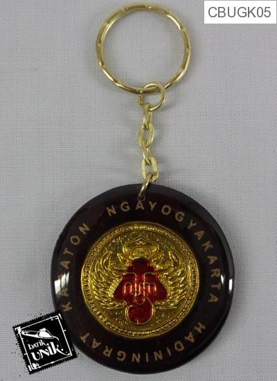 Gantungan Kunci Resin Logo Kraton Yogyakarta