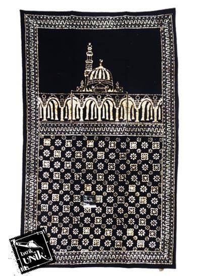 Sajadah Etnik Batik Cap Motif Nitik Klasik