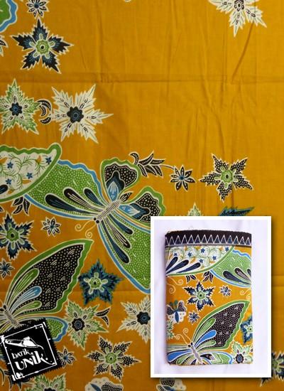 Kain Batik Printing Motif Kupu Bunga Bintang   Kain Batik ...