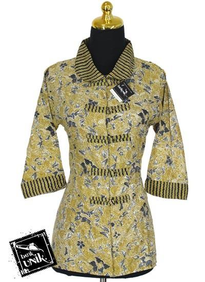 Model Dress Lurik Wanita Terbaru