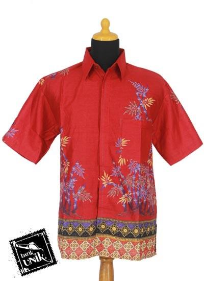 Baju Batik Sarimbit Gamis Motif Bambu China Tumpal