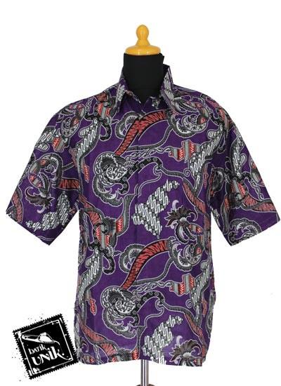 Baju Batik Sarimbit Blus Motif Cap Pulau Ceplok Batik