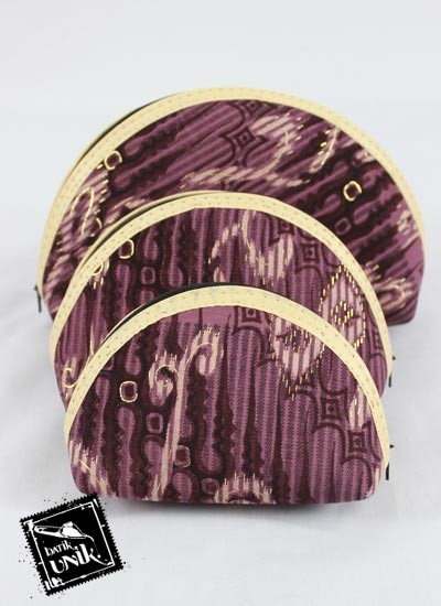 Dompet Batik Susun Motif Batik Semi Prodo