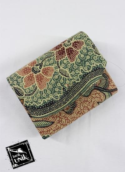 Dompet Batik Magnet Koin Motif Batik Mataram Duo