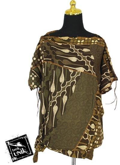 Baju Batik Kelelawar Sabrina Motif Parang Menang
