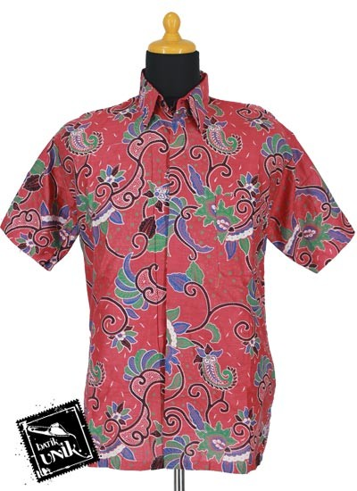 Baju Batik Sarimbit Gamis Kombinasi Motif Cempa Mekar