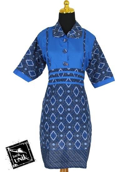 Baju Batik Sarimbit Dress Motif Ukir Ukiran Jawa