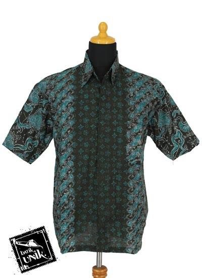Baju Batik Sarimbit Blus Motif Cap Godhong Rendeng