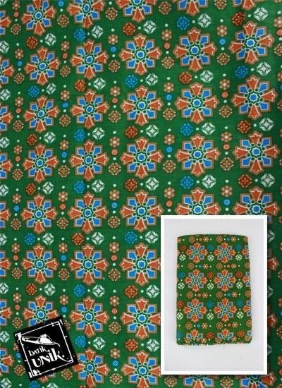 Kain Batik Printing Katun Motif Mata Roda