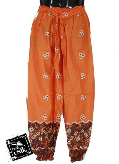 Baju Batik Celana Aladin Katun Motif Rumbia Abstrak 2