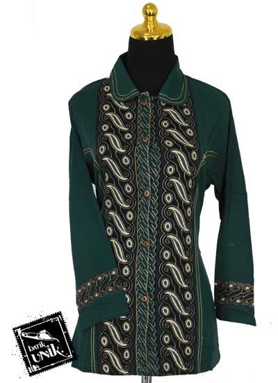 Baju Batik Sarimbit Blus Motif Parang Peni