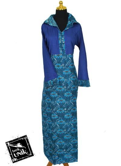 Gamis Batik Motif Bunga Tenun Gamis Batik Murah