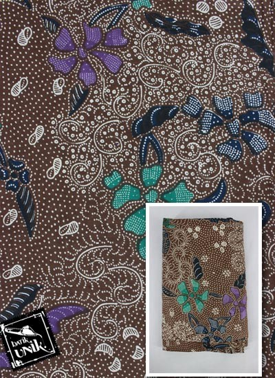 Kain Batik Printing Katun Motif 3 Negeri Klasik