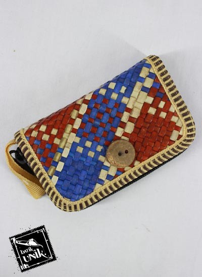 Dompet Batik Motif Tikar Pelangi