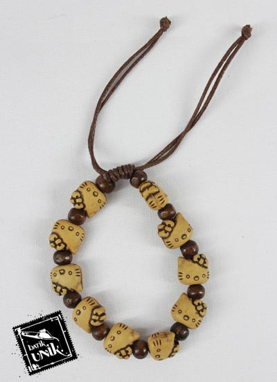Gelang Tali Tarik Hello Kitty