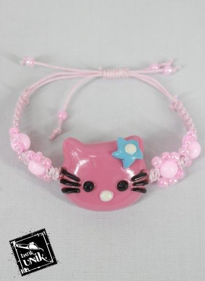 Gelang Tali Tarik Hello Kitty Warna