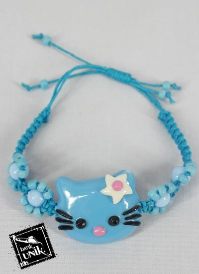 Gelang Tali Tarik Hello Kitty Warna