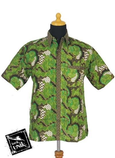 Baju Batik Sarimbit Blus Motif Ceplok Nogo Tumpal