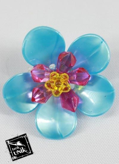 Peniti Bros Bunga Daun Kecil Warna Warni