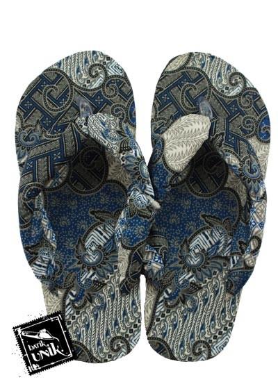 Sandal Batik Terbaru  Oshin Motif Batik Terbaru  Kotemporer Unik
