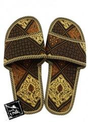 Sandal Selop Batik Rante Mix Motif