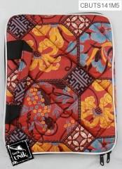 Tas Laptop 10 inc Motif Campuran Batik Warna