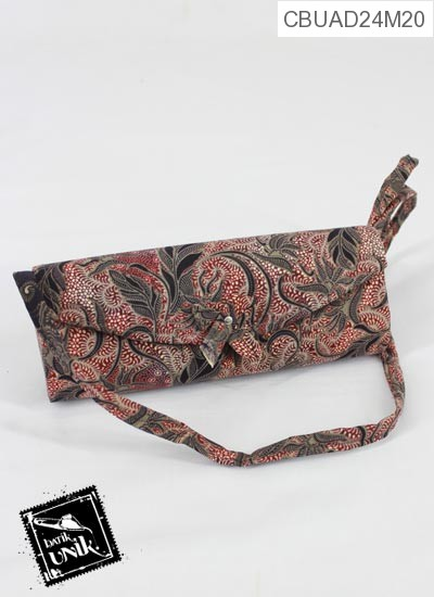 Dompet Pesta Pita Tali Motif Batik Kotemporer Indonesia