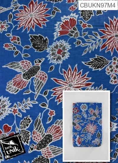 Kain Batik Printing Katun Motif Peksi Kebon