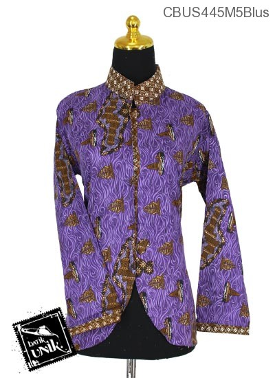 Baju Batik Sarimbit Blus Pekalongan Motif Gepuro Dewata