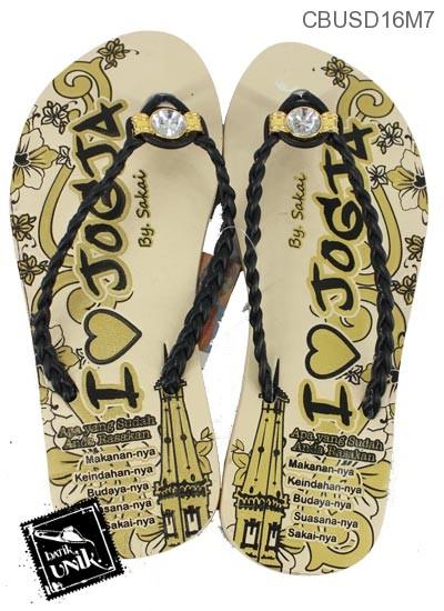 Sandal Batik Jogja Kepang Diamond