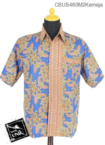 Baju Batik Sarimbit Blus Motif Kupu Kupu Tumpal Sisik