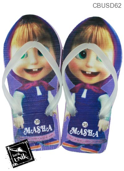 Sandal Anak Motif Masha