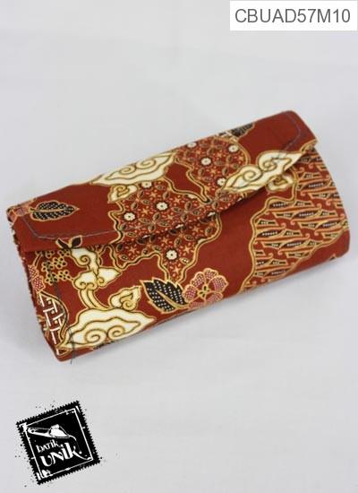 Dompet Pesta Bulat Tanggung Motif Campuran Batik Klasik